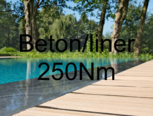 250Nm - Beton-/ Liner-Pool