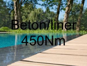 450Nm - Beton-/Liner-Pool